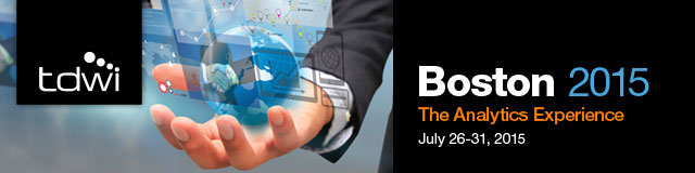 TDWI Boston 2015 - The Analytics Experience