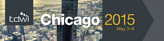 TDWI Chicago May 3-8, 2015