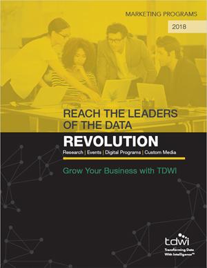TDWI Marketing Opportunities Brochure Download (PDF)